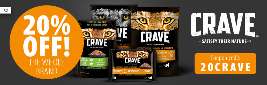20% Off Crave