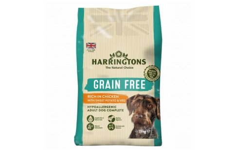10% Off Harringtons Grain-Free Dry Dog Food