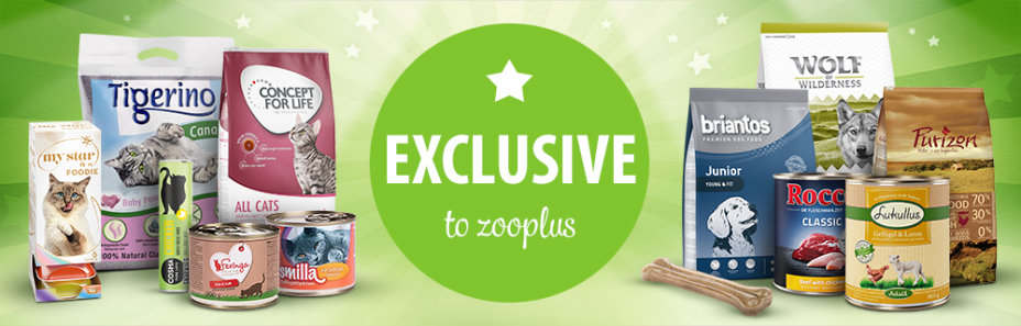 Exclusive to zooplus