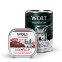 comida húmida wolf of wilderness