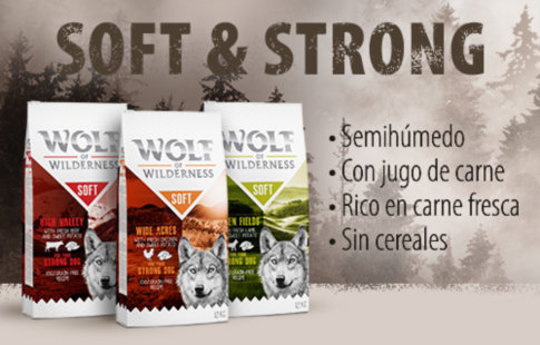 Pienso Wolf of Wilderness Soft & Strong