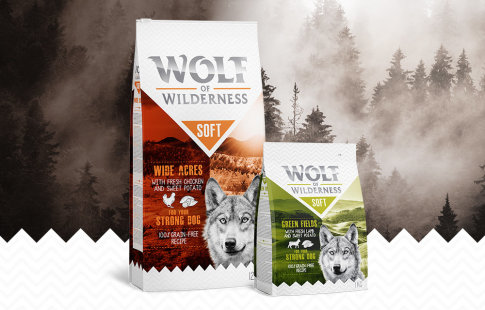 Wolf of Wilderness Soft & Strong