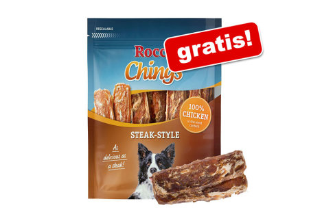 Rocco Chings Steak Style cu carne de pui, 200 g