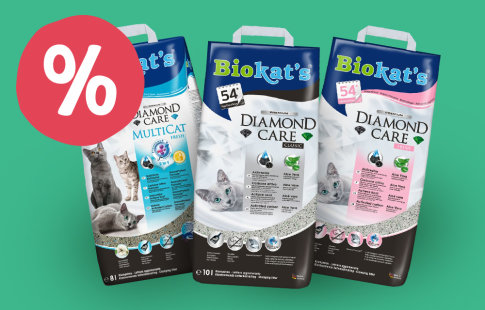 2 l gratis! 8 sau 10 litri Biokat's Diamond Care