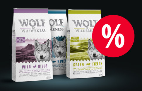 50 lei DISCOUNT! 12 kg Wolf of Wilderness