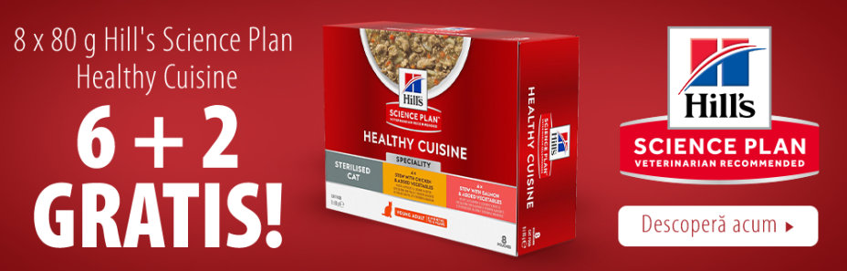 9 + 3 gratis! 12 x 79 g Hill's Science Plan Adult Healthy Cuisine