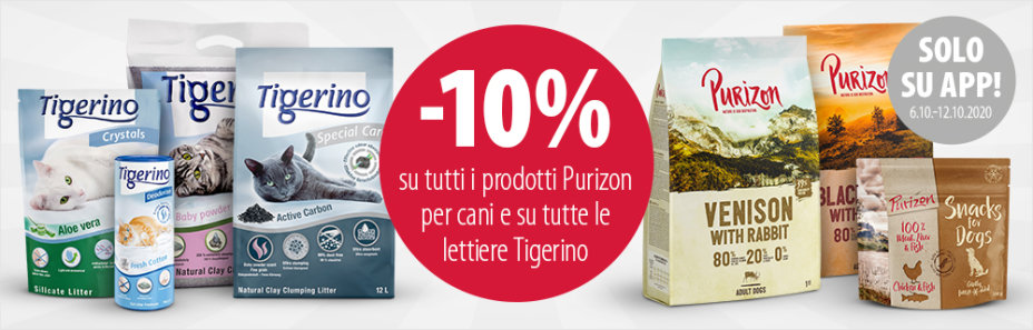 Purizon e Tigerino PROMO