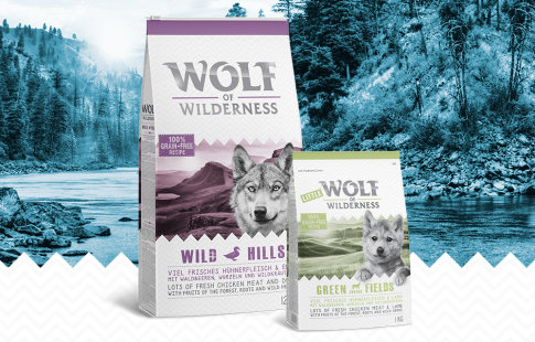 Wolf of Wilderness suha pasja hrana