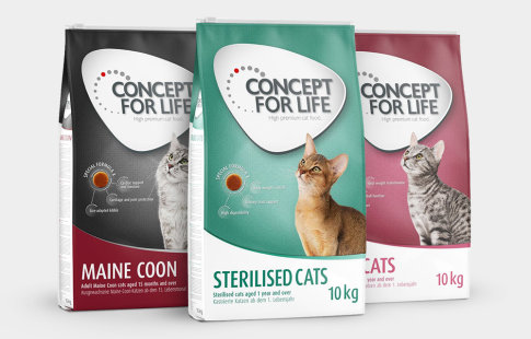 Croquettes Concept for Life pour chat