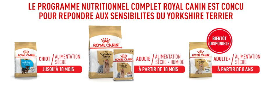 Le programme nutritionnel complet Royal Canin