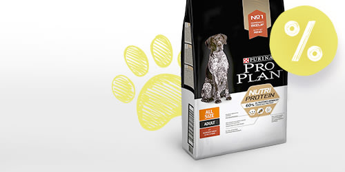Croquettes PURINA PRO PLAN Nutriprotein 8 kg + 2 kg offerts !