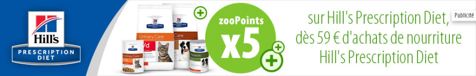 zooPoints x5 sur Hill's Prescription Diet !