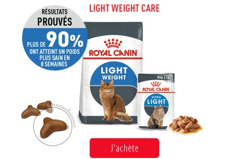 Royal Canin Feline Care Subpage - Grid Light Weight Care Image