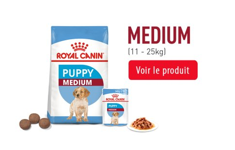 Royal Canin Puppy Subpage - Grids taille MEDIUM