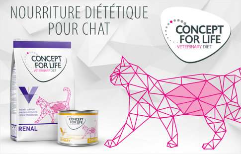 Concept For Life Veterinary Diet pour chat