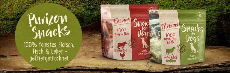 Purizon header snacks