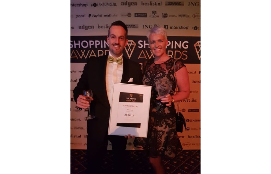 Winnaar Shopping Awards 2019